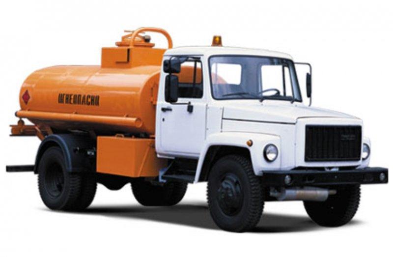 Бензовоз на шасси ГАЗ-3309