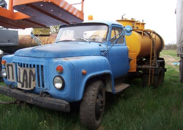 Технические характеристики бензовоза на базе автомобиля ГАЗ-52