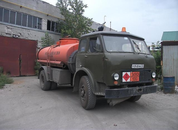Технические характеристики и особенности бензовозов МАЗ 500