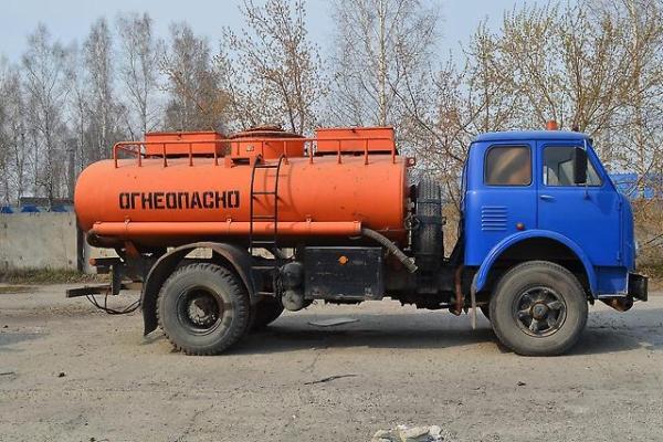 Конструктивные особенности и технические характеристики бензовоза на базе МАЗ-5334