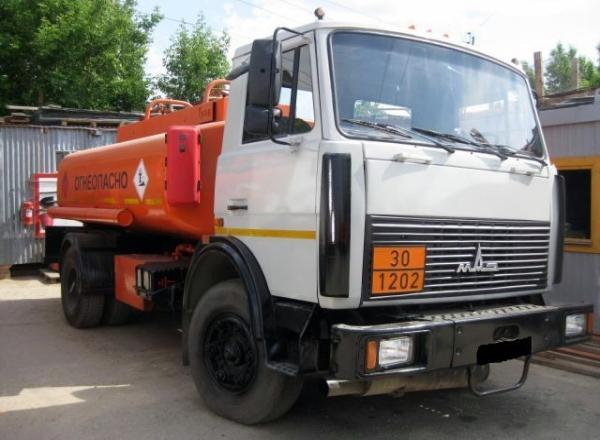 Характеристики и устройство бензовоза МАЗ-5337