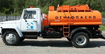Параметры, конструктивные особенности и назначение бензовозов на базе ГАЗ