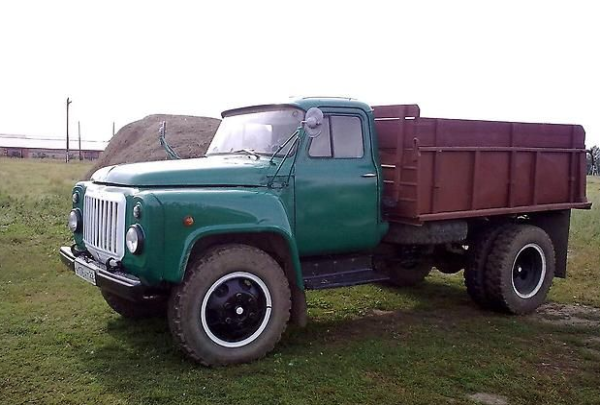 Устройство, особенности самосвала ГАЗ-52