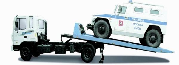 Характеристики и особенности эвакуаторов Hyundai hd 120 с выдвижной платформой
