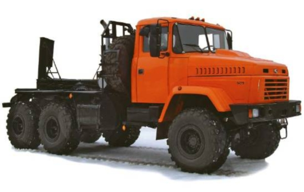 Технические характеристики, особенности и устройство лесовозов КрАЗ 64372