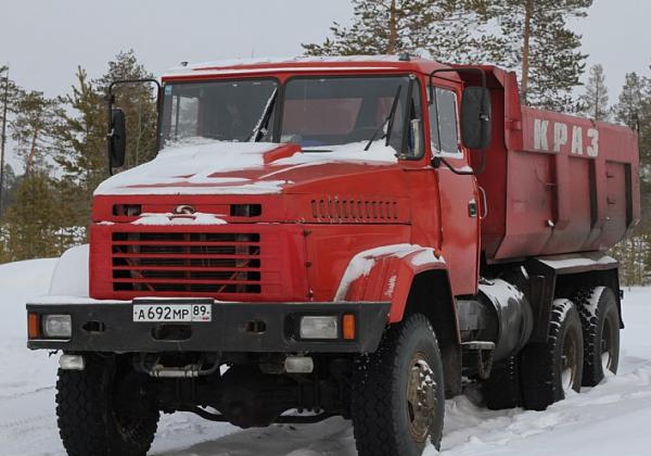 Конструктивные особенности и технические характеристики самосвалов КрАЗ с колесной формулой 6х6