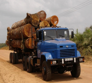 Устройство лесовозов КрАЗ