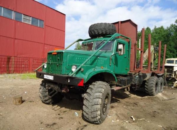 Технические характеристики, особенности и устройство лесовоза КрАЗ 255