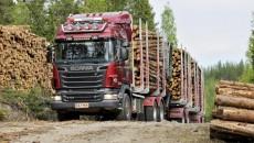 Устройство, преимущества и недостатки популярных моделей лесовозов скания