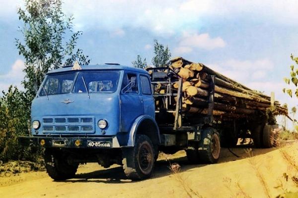 Технические характеристики и конструктивные особенности лесовозов МАЗ-500