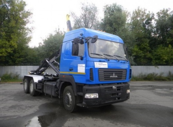Технические характеристики мультифта МАЗ-6312в9