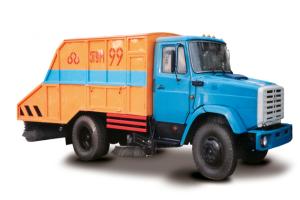 Устройство подметально-уборочных машин ПУМА