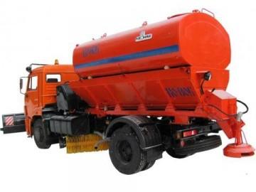 Назначение, особенности, технические характеристики поливомоечной машины ко806 на базе КамАЗ 43253