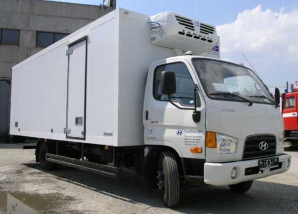 Производитель, назначение и устройство рефрижераторов Hyundai hd 78