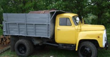 Технические характеристики и конструктивные особенности самосвала ГАЗ-52