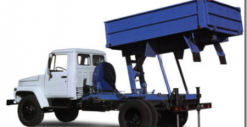 Технические характеристики и устройство дизель самосвала газ-3307