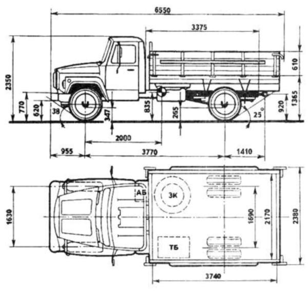 кузов, двигатель, кабина