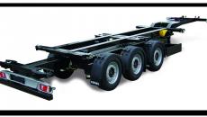 Устройство и технические характеристики полуприцепа контейнеровоза sw 360g