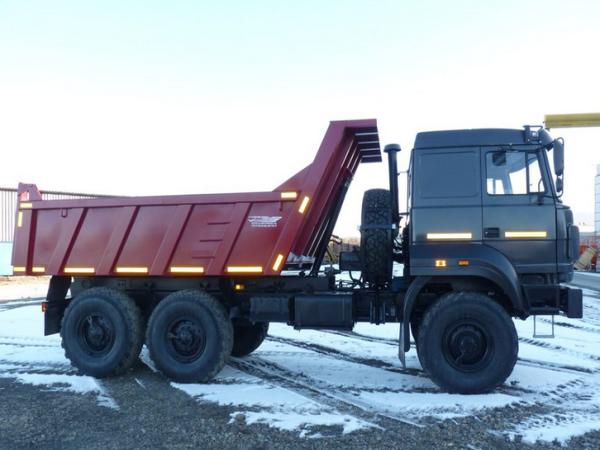 Особенности, назначение и технические характеристики самосвала самосвал Урал-58312G