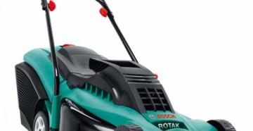 Модификации, характеристики, устройство и принцип работы газонокосилки Bosch Rotak 43