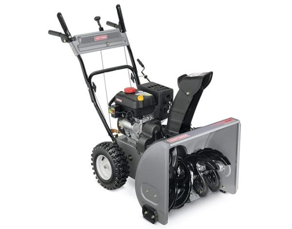 Принцип работы и устройство снегоуборщика Craftsman 88172