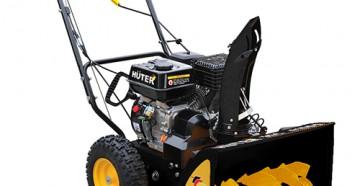 Характеристики, конструктивные особенности, устройство снегоуборщика негоуборщик Huter SGC 4000