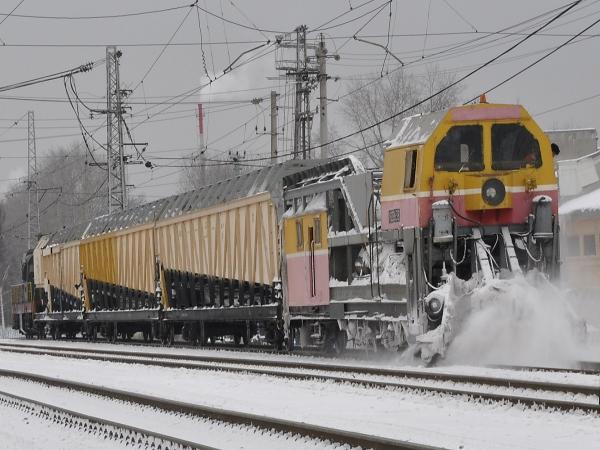 Назначение и устройство снегоуборочной машины для ж/д СМ-2