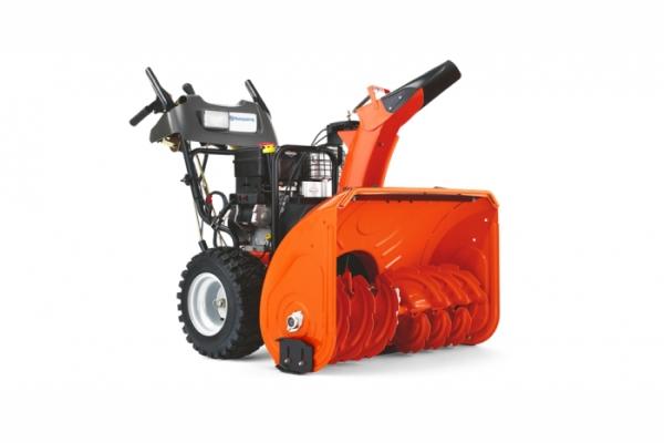 Технические характеристики и устройство снегоуборочной машины Husqvarna ST 261 E