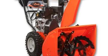 Модельный ряд, технические характеристики, конструктивные особенности снегоуборщиков Ariens