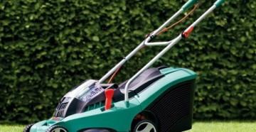 Характеристики, устройство и принцип работы электрической газонокосилок Bosch Rotak 37 и ее модификаций