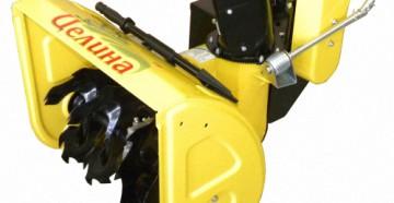 Модельный ряд, технические характеристики и особенности снегоуборщиков Целина