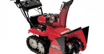 Модельный ряд, характеристики и особенности снегоуборщиков Honda