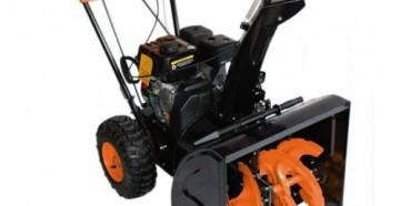 Снегоуборочные машины Патриот: модельный ряд, характеристики и особенности