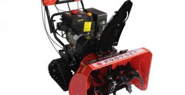 Технические характеристики и особенности конструкции бензиновых и электрических снегоуборщиков profi