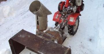 Пошаговая инструкция и особенности изготовления своими руками снегоуборщика из бензопилы Урал