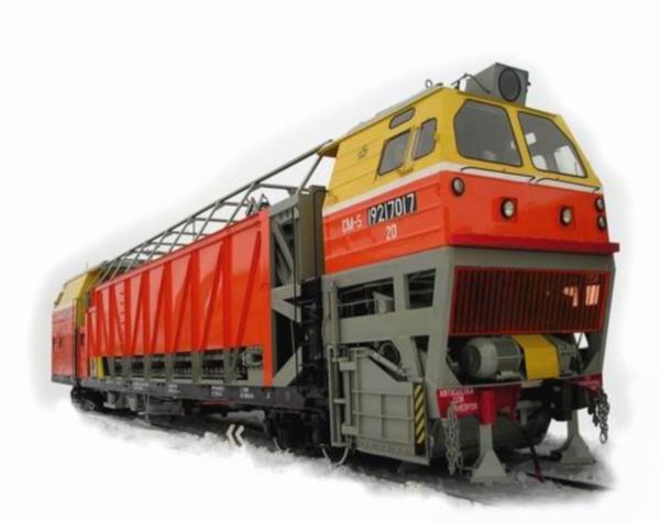 Особенности и параметры снегоуборочных машин СМ-5 для желеных дорог