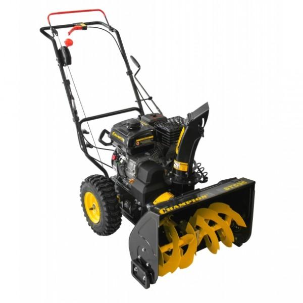 Двигатель, габариты и эксплуатационные характеристики снегоуборщика Champion ST556