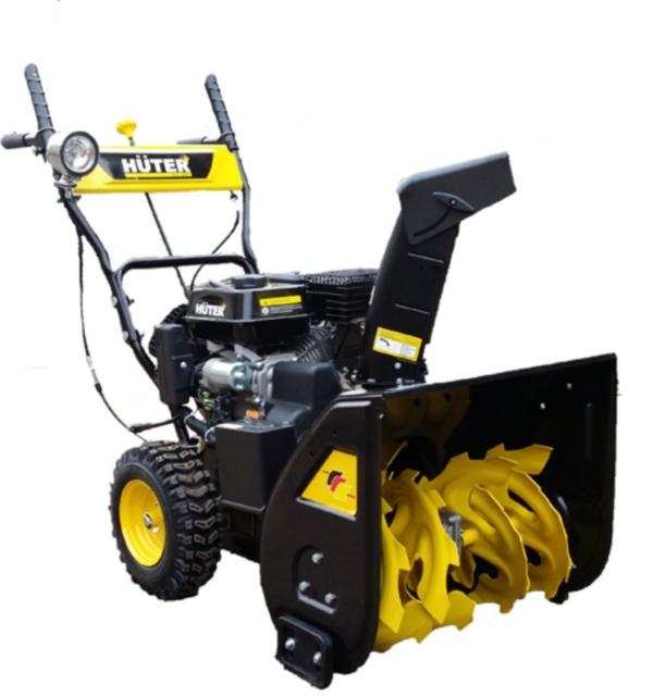 Двигатель, габариты, вес и эксплуатационные характеристики снегоуборщика Huter SGC 4800