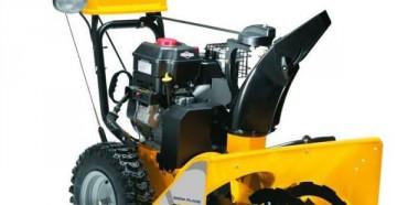 Модельный ряд, технические характеристики и иконструктивные особенности снегоуборщиков Stiga