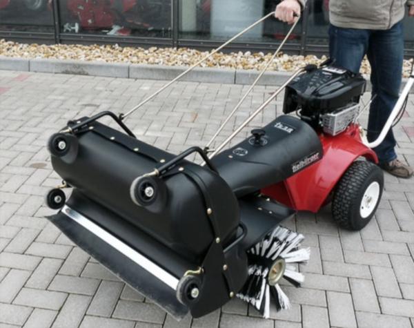 Характеристики и устройство подметальной машины tk48