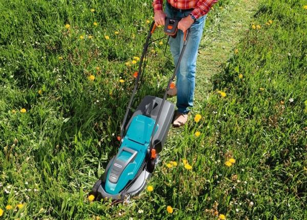 Характеристики и особенности электрической газонокосилки gardena PowerMax 34e