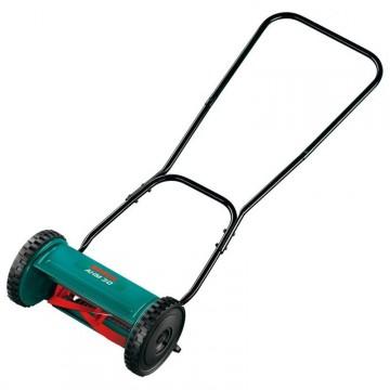 Особенности, назначение и принцип работы механической газонокосилки Bosch ahm 30