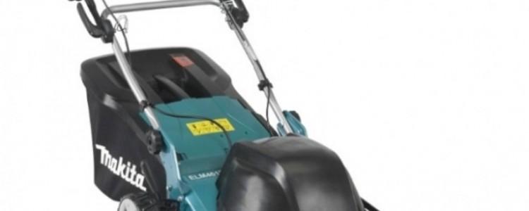 Характеристики, устройство и принцип работы газонокосилки Makita ELM4613
