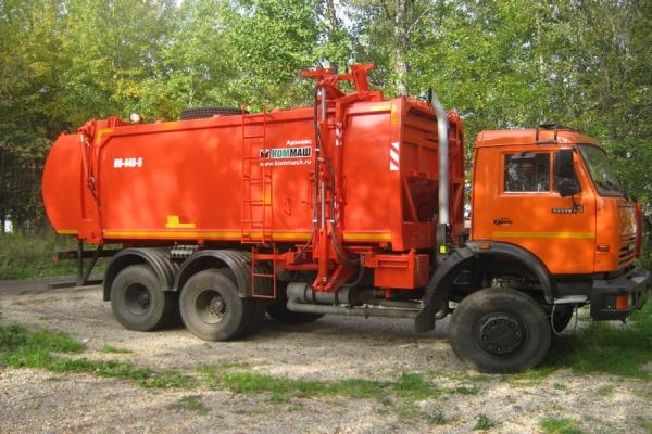 Особенности устройства и характеристики мусоровоза КО-440-6