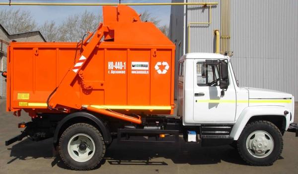 Характеристики и особенности мусоровоза КО-440-1