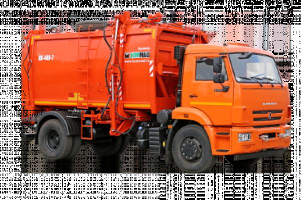 Особенности и характеристики мусоровоза КО-440-7
