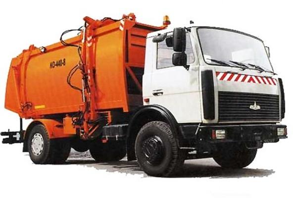 Особенности и технические характеристики мусоровоза КО-440-8