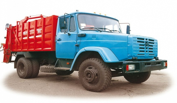 Особенности и характеристики мусоровоза МКЗ-10 на базе автомобиля ЗИЛ