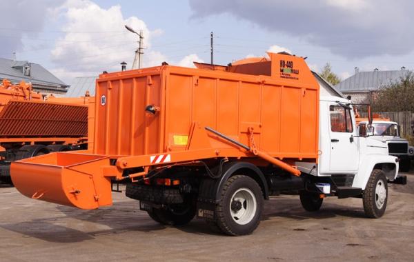 Особенности эксплуатации и модификации мусоровоза КО-440