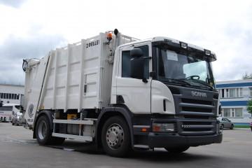 Устройство, особенности, технические характеристики мусоровозов Скания